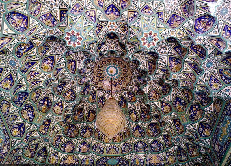Tile Work in Iran