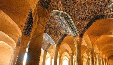 Vakil Mosque Shiraz Iran - Historical Mosques of Iran
