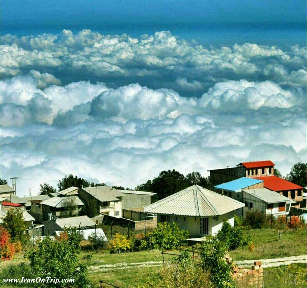 Deraz_now village - Golestan Tourist Attractions