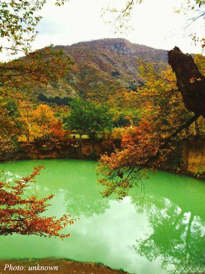 Gol-e-Ramian (Ramian pool) - Golestan Tourist Attractions