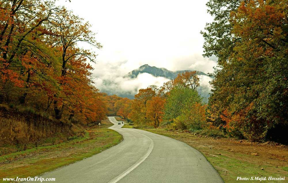 Olang road - Golestan Tourist Attractions