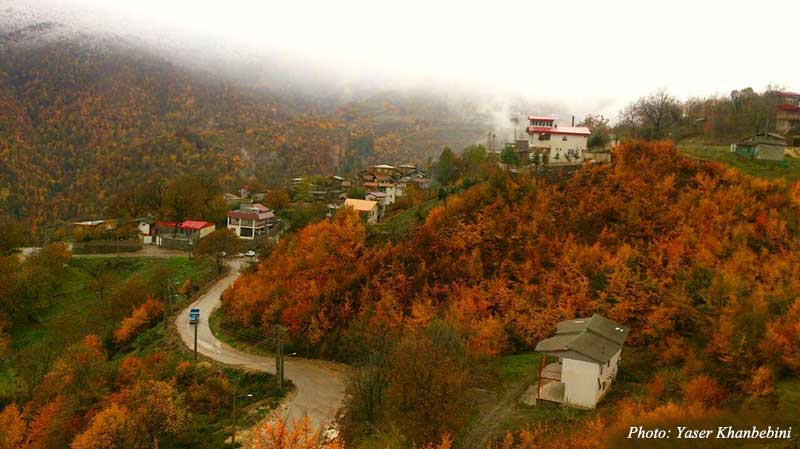 Paqaleh village Golestan Iran - Golestan Tourist Attractions