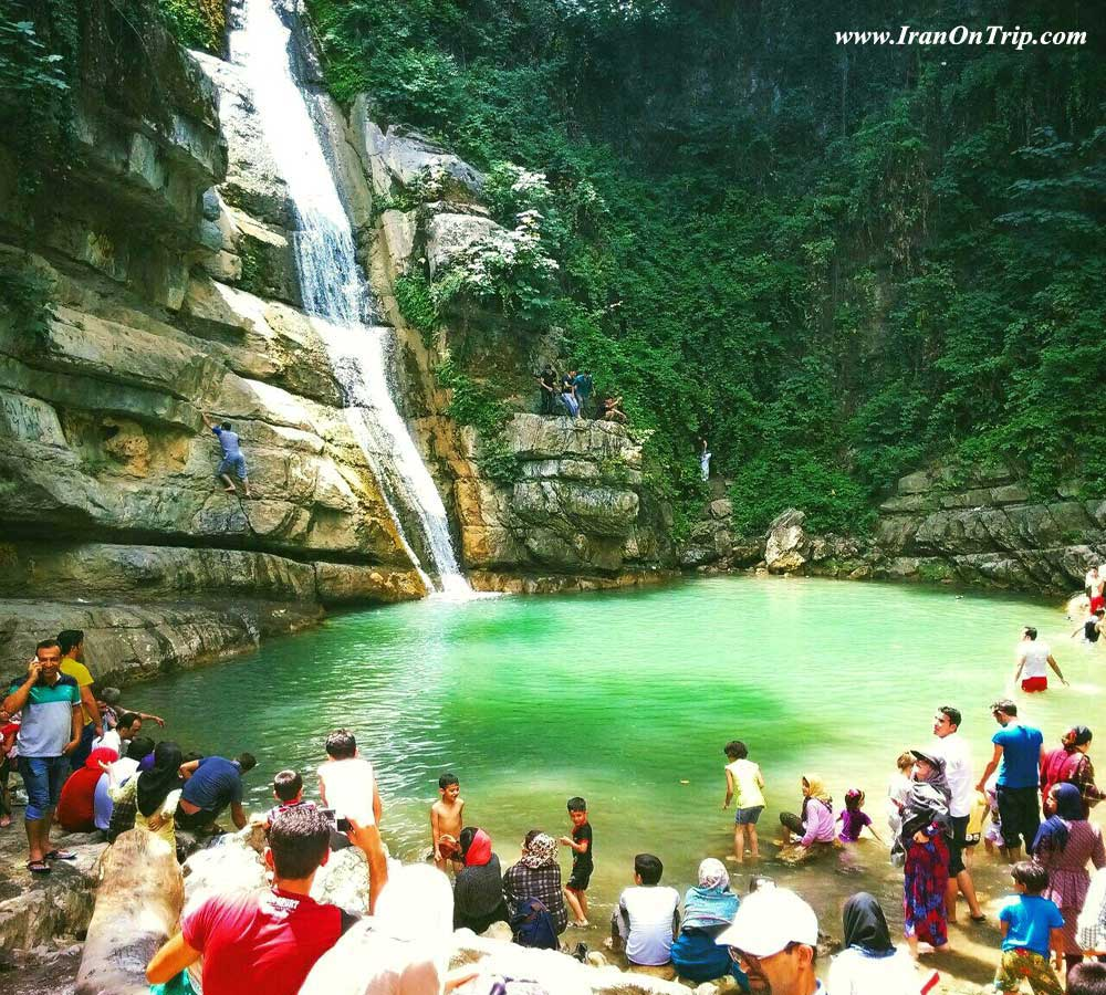 Shirabad waterfall - Golestan Tourist Attractions