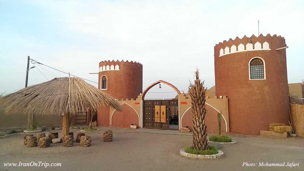 هتل توریستی تی دا در روستای کویری مصر