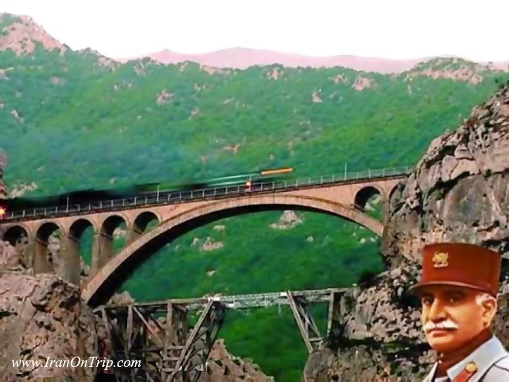 Historical Versk Bridge in Savad Kooh Firozkooh Iran - Historical Bridges of Iran