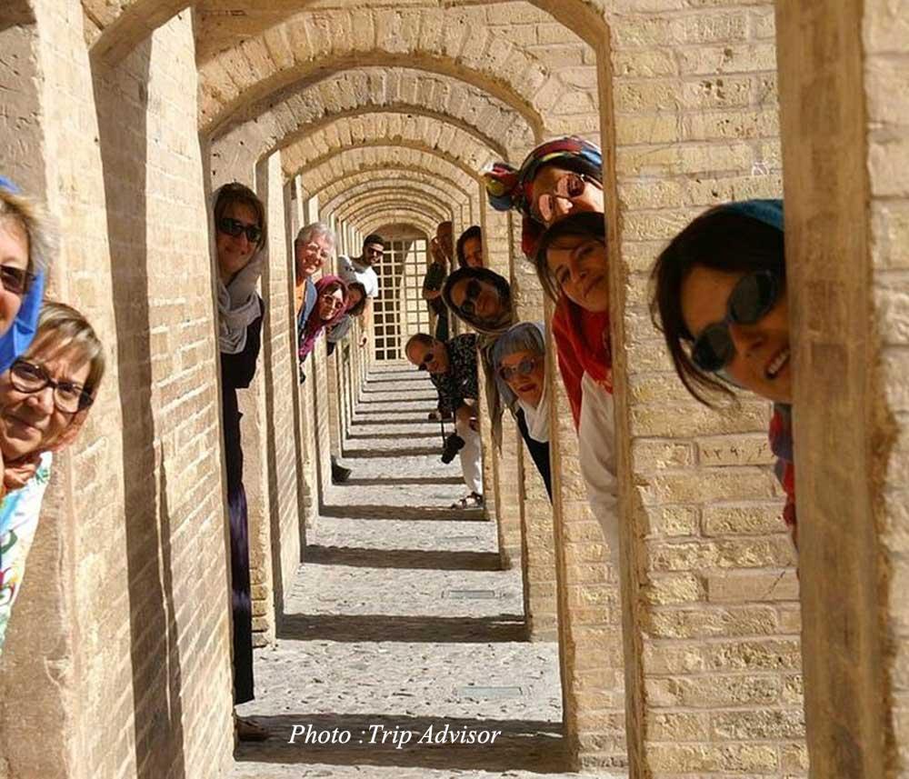 Khaju Bridge in Isfahan - Hisorical Bridges of Iran