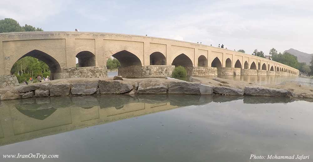 Marnan Bridge Isfahan Iran - Historical Bridges os Iran - Historical Bridges of Iran