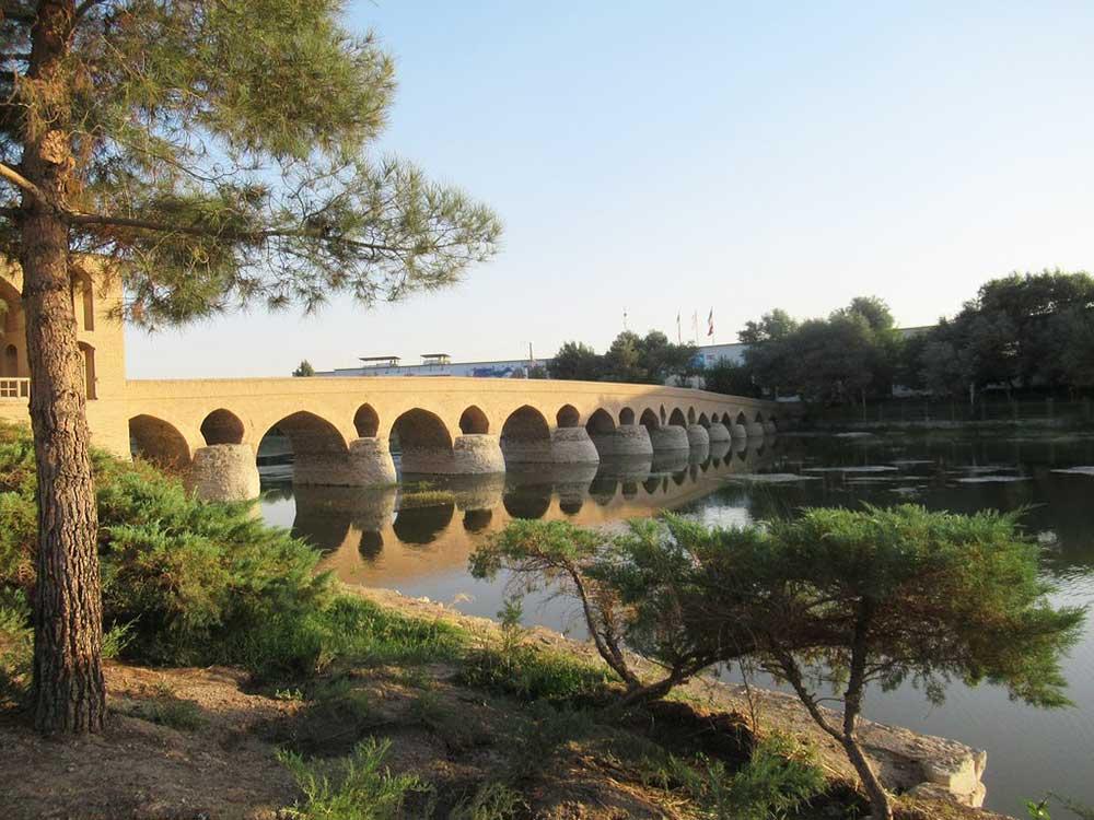 Shahrestan Bridge - Historical Bridges of Isfahan Iran - old Bridges of isfahan Iran