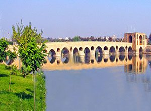 Shahrestan Bridge - Historical Bridges of Isfahan Iran - old Bridges of isfahan Iran