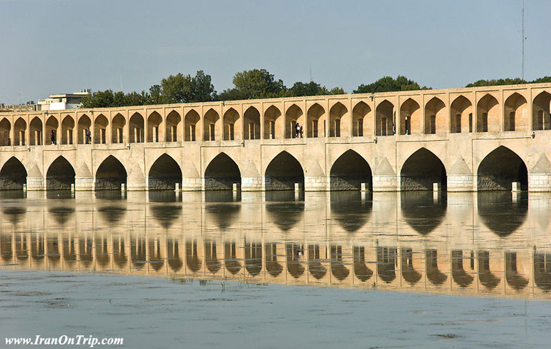 Siosepol bridge-33 Pol-Allah Verdi Khan Bridge - Historical Bridges of Isfahan Iran