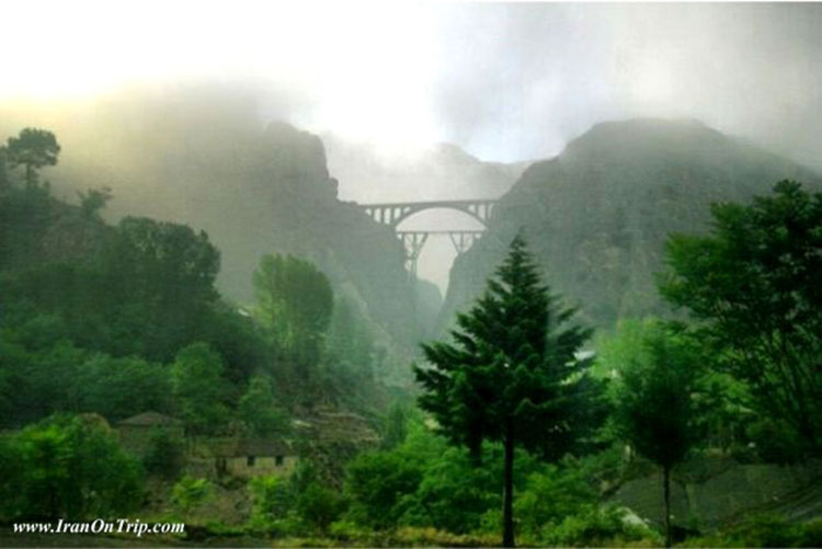Veresk Bridge - Historical Bridges of Iran