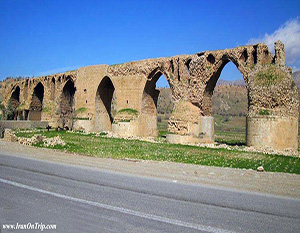 Ashkan Bridge - Historical Bridges of Iran