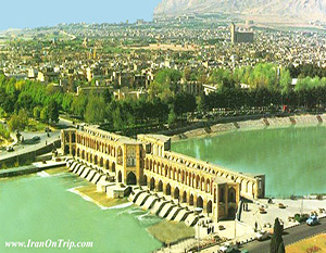 Khaju Bridge of Isfahan - Historical Bridges of Iran