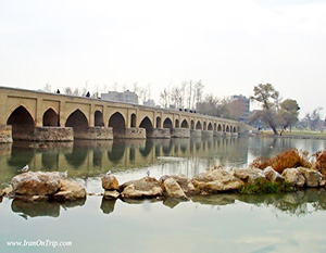 Marnan Bridge in Isfahan - Historical Bridges of Iran