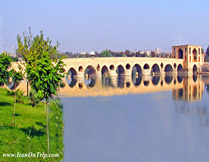 Shahrestan Bridge of Isfahan - Historical Bridges of Iran-