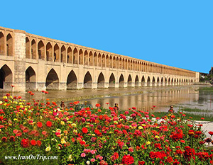 Siosepol bridge of Isfahan - Historical Bridges of Iran