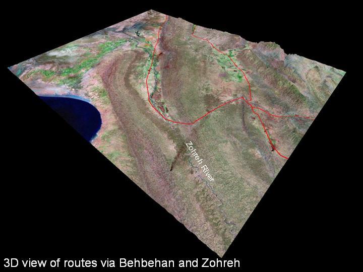 Behbehan and Zohreh plain - plains of Iran