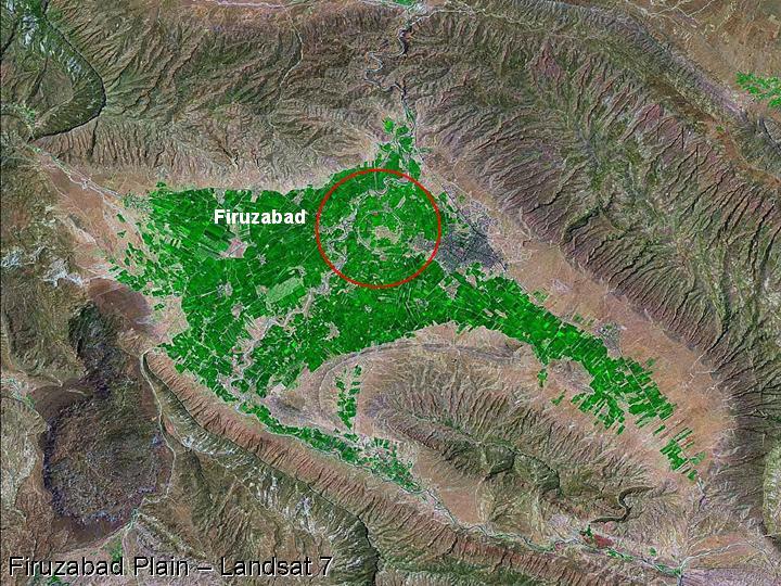 Firuzabad - plains of Iran