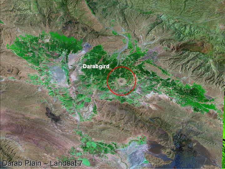 Fasa and Darab - plains of Iran