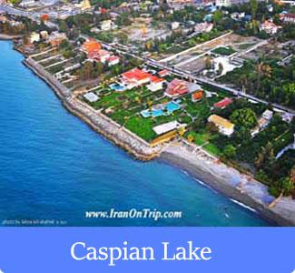 Caspian Sea - The Famous Lakes of Iran