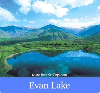 Evan Lake - The Famous Lakes of Iran