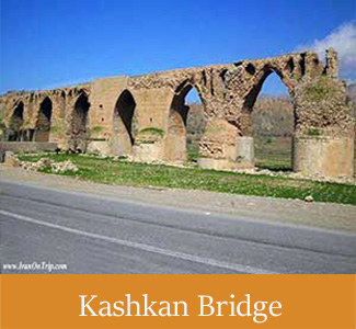 Historical Kashkan Bridge - Historical Bridges Of Iran
