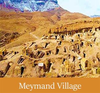 Historical Meymand Village - Historical Villages of iran