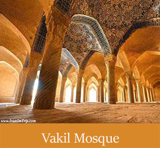 Historical Vakil Mosque in Shiraz - Historical mosques of Iran