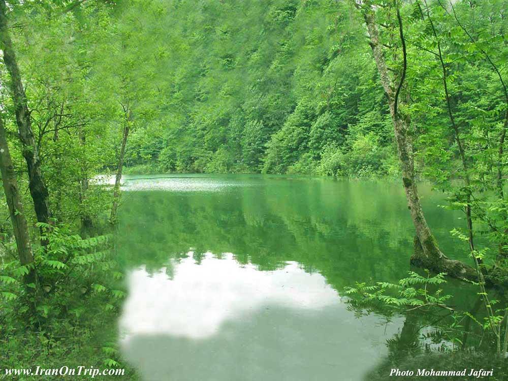 Majiran Lake - Majiran Dam - Lakes of Iran.