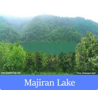 Majiran Lake in Mazanderan Iran - The Famous of Lakes of Iran