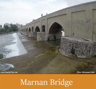 Marnan Bridge of Isfahan - Historical Bridges of Iran