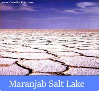 Maranjab Salt Lake - The Famous Lakes of Iran