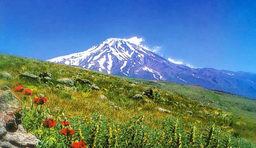 Mountains of Iran - Damavand Mountain