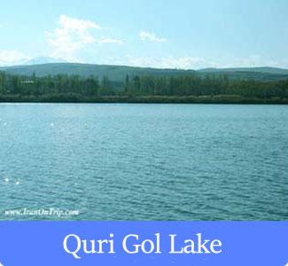 Quri Gol Lake - The Famous Lakes of Iran