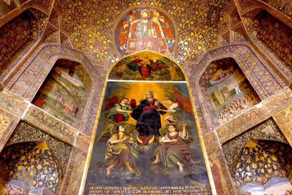 Saint Mary Church of Tabriz - Historical Churches of Iran - Old Churches of Iran