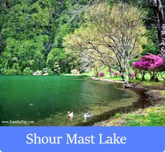 Shour Mast Lake - The Famous Lakes of Iran