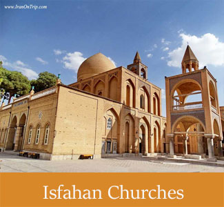 Historical Isfahan Churches - Vanak Churche - Historical Churches of Iran