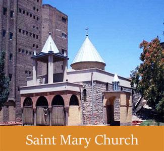 Historical Saint Mary Church of Tabriz - Historical Churches of Iran