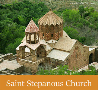 Historical Saint Stepanous Church at East Azarbaijan, Iran