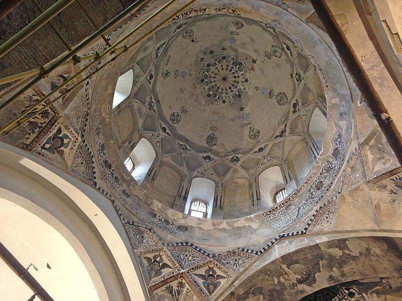 Dom of Saint Stepanous Church in East Azarbaijan, Iran - Historical Churches in Iran -