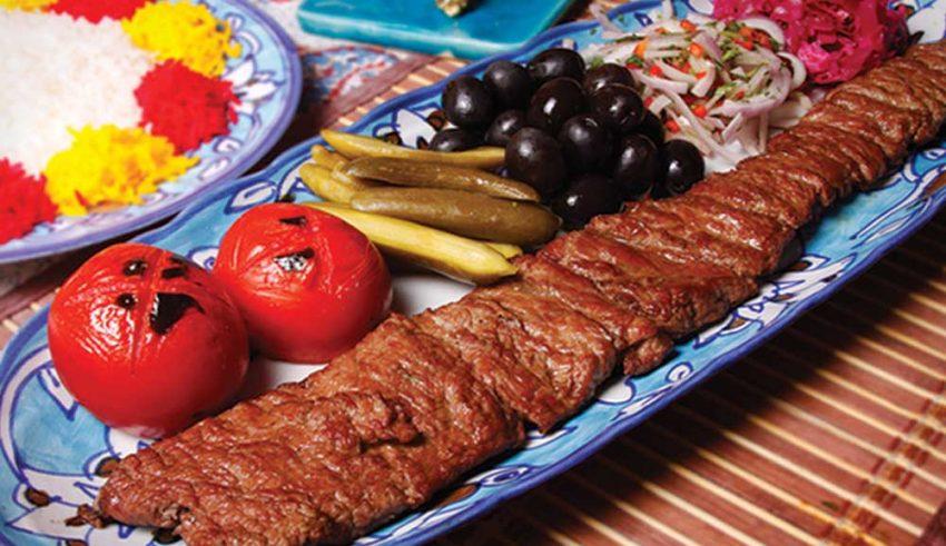 Kebab-e-Barg-Persian-Food