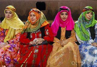 Afshars and Shahsavans dresses