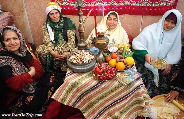 Celebrating Yalda Night in Iran