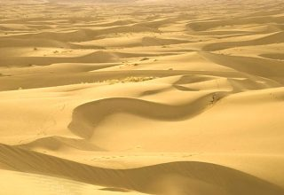 All About Deserts of Iran