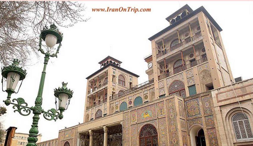 Golestan Palace in Tehran Iran