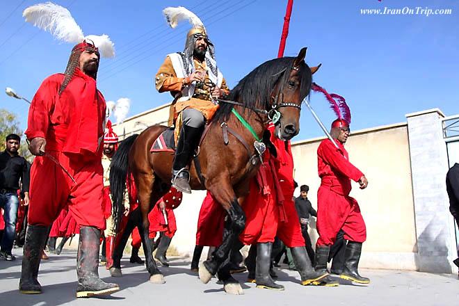 Indigenous theatre Ta'ziyeh - mourning Rituals