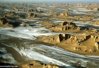 Iran's Lout Desert Earth's Hottest Spot