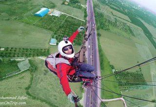 Mohammad Jafari Pilot of Paragliding Sport in Iran Isfahan - Paragliding in Iran