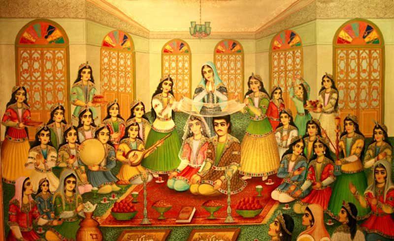Persian Wedding Traditions