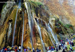 Margoon Waterfall Iran - Waterfalls of Iran